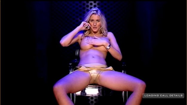 Danica Thrall Teasing Handbra