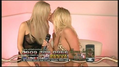 danica thrall & sophia knight kiss